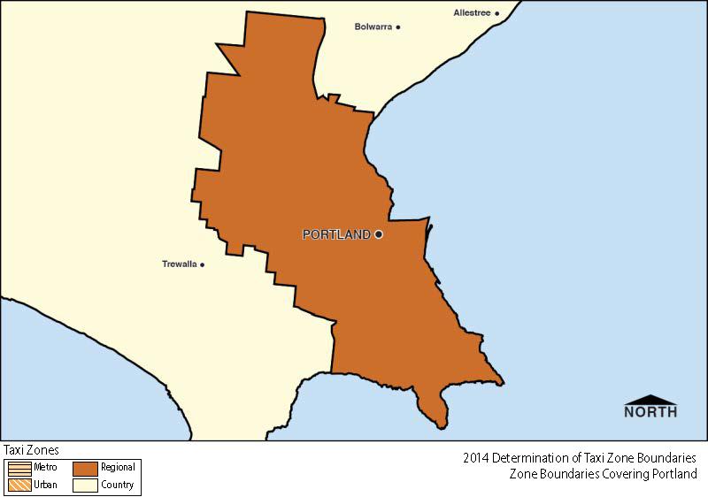 Regional Zone Map - Portland