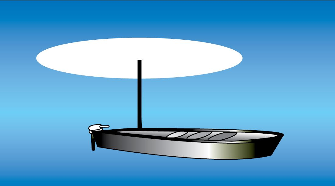 All-round white light shown
