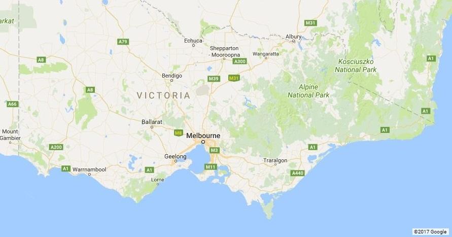 Victorian coast
