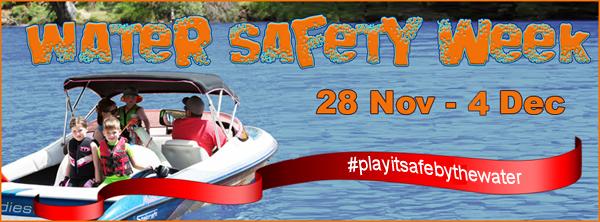 Water Safety Week banner