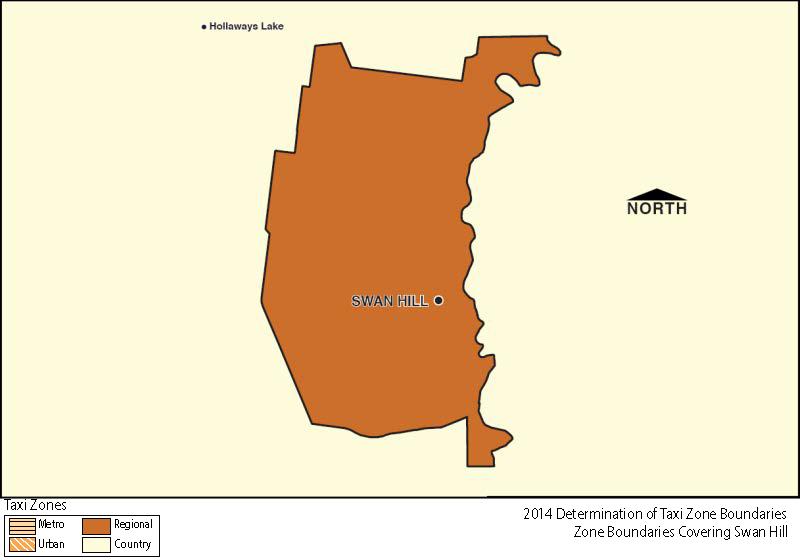 Regional Zone Map - Swan Hill